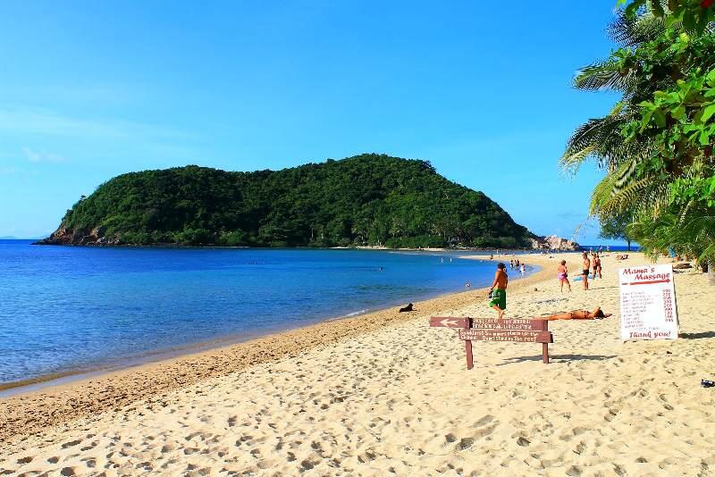 Playas de Koh Phangan Playa de Mae Haad