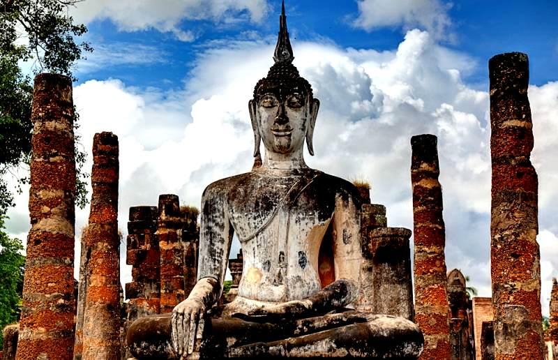 Ruinas de Templos de Sukhothai