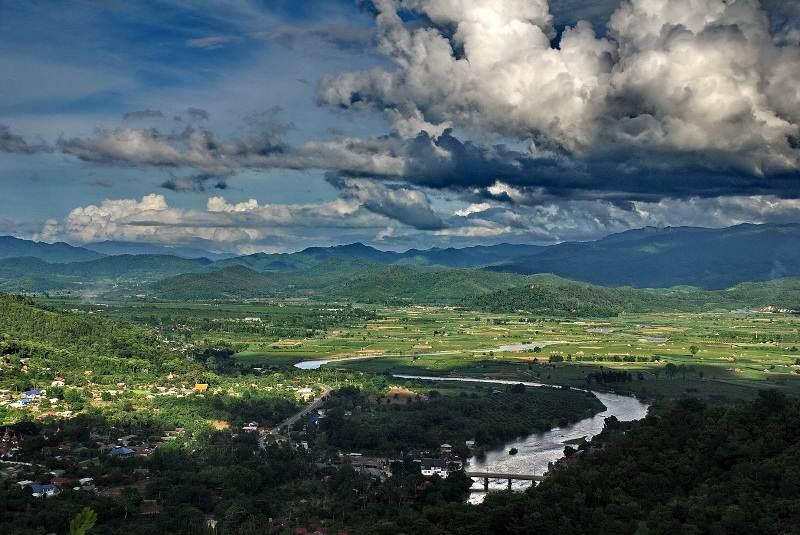 El tiempo en el Norte de  Tailandia