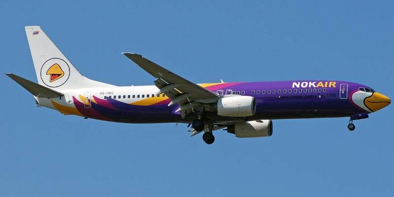 Vuelos internos Tailandia-Nok Air