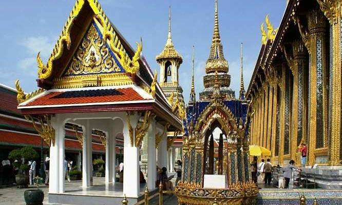 Ubosot  Templo Tailandia