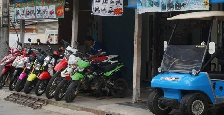 Alquilar moto en Koh Samet