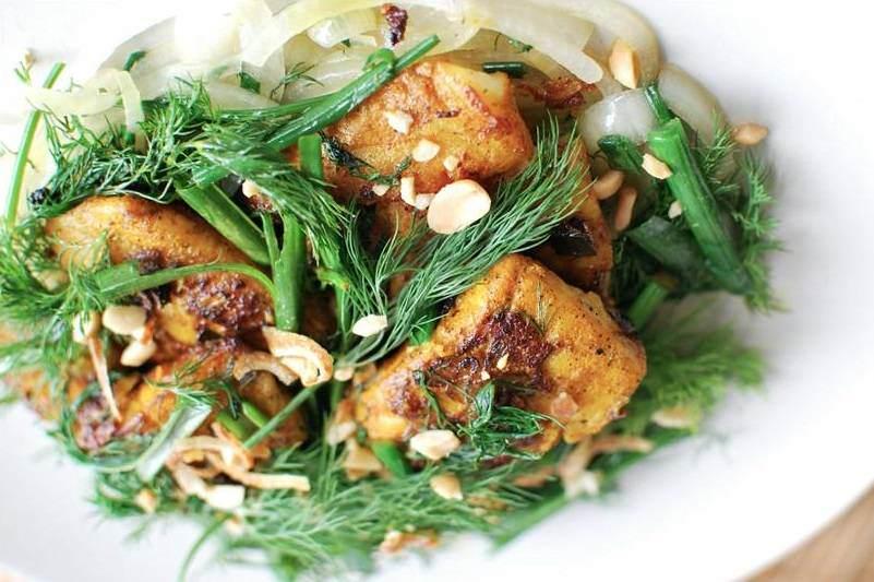 Comida vietnamita típica de Hanoi