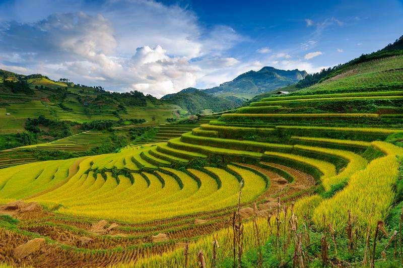 El tiempo en la zona Nort de Vietnam