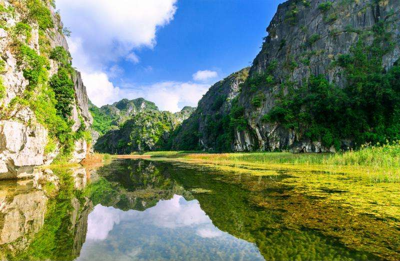 Reserva de Van Long en Ninh Binh