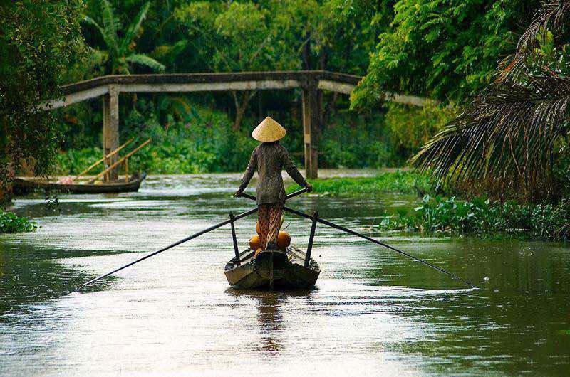 Delta del Mekong en Vietnam