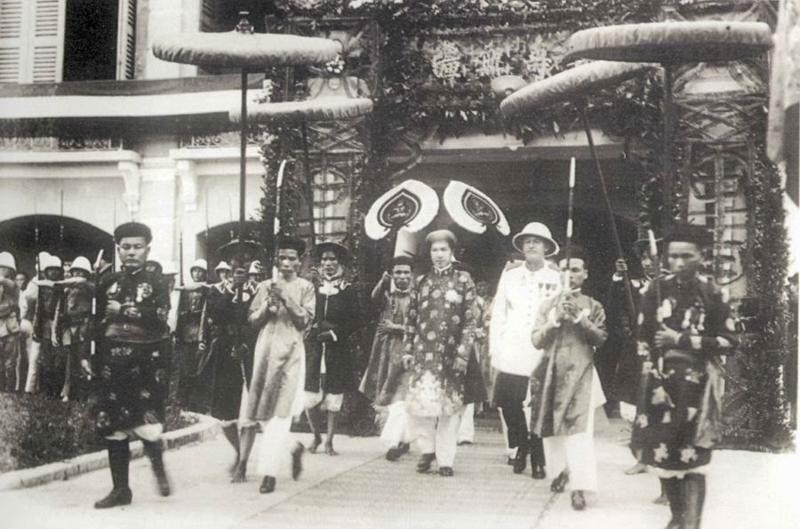 Historia de Vietnam durante el protectorado francés