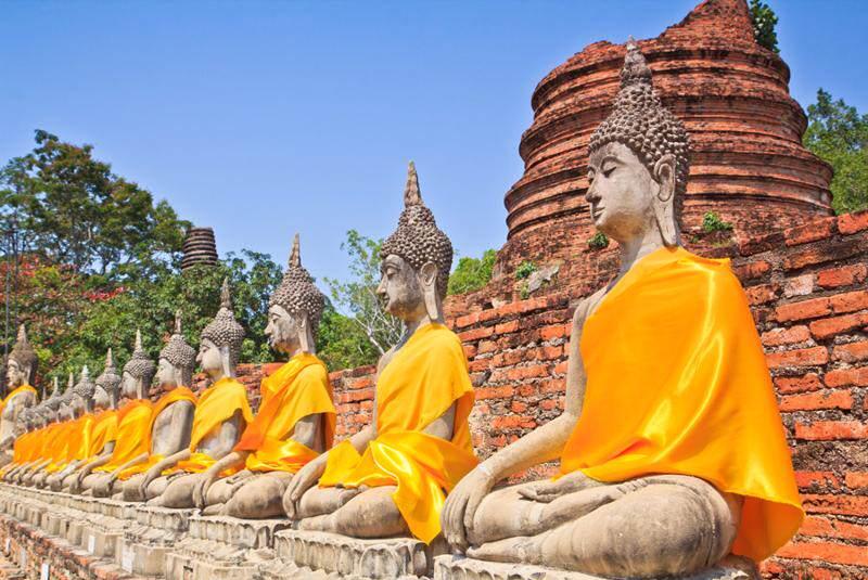 Ayuthaya, capital del antiguo nombre de Siam