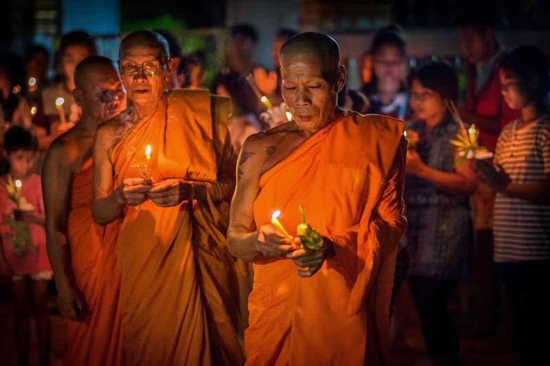 Fiesta de Macha Bucha en Tailandia