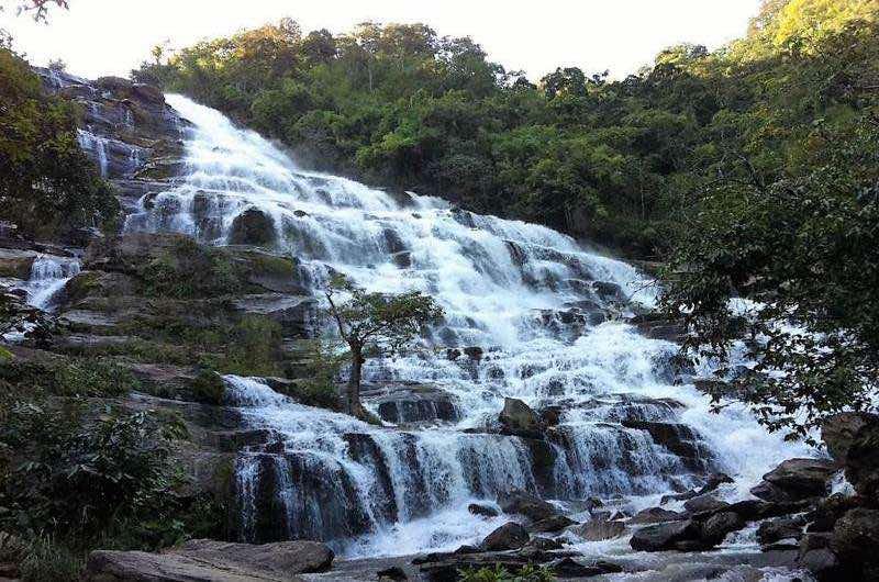 El Parque Nacional de Doi Inthanon en Septiembre