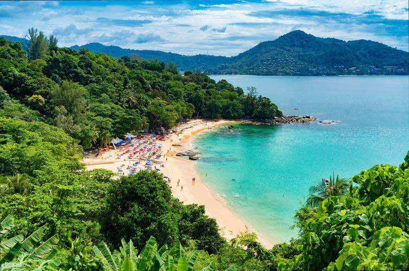 Las playas en Tailandia en Octubre