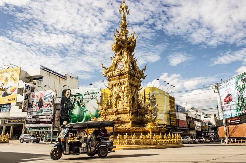 La ciudad de Chiang rai