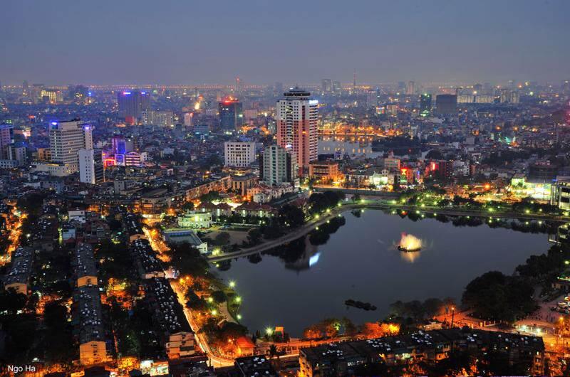 Alojarse en el Lago del Oeste de Hanoi