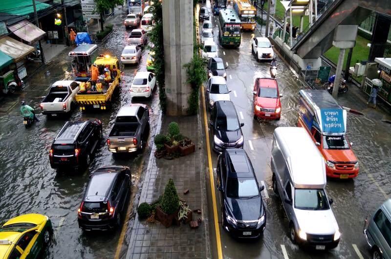 lluvias en Bangkok