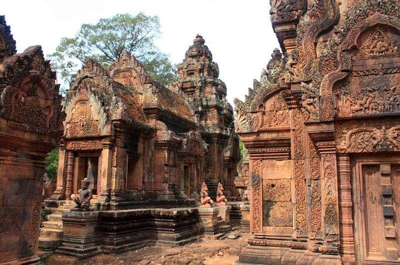 Templo de las Mujeres en Camboya
