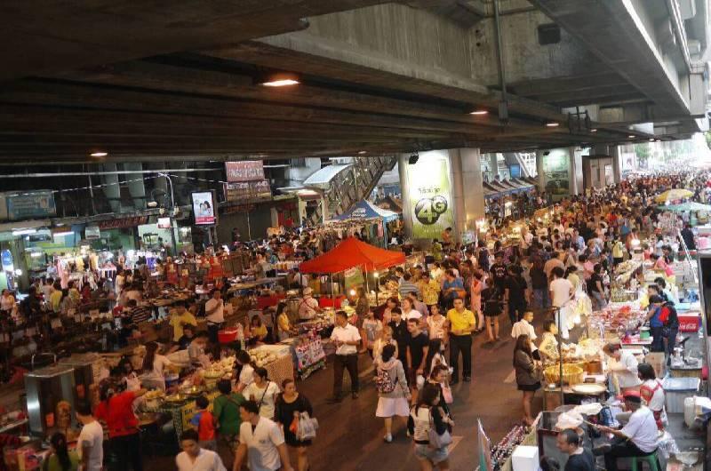 crecimiento de la población de Bangkok