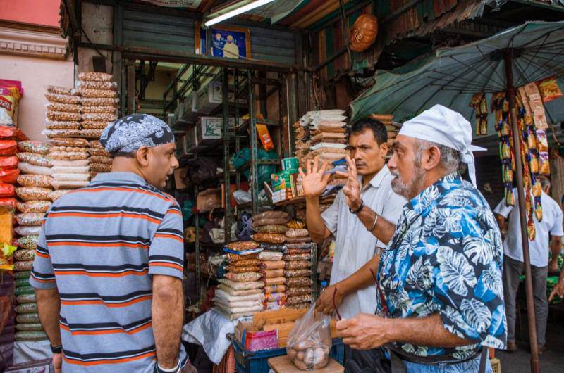 Población de Bangkok de origen hindú