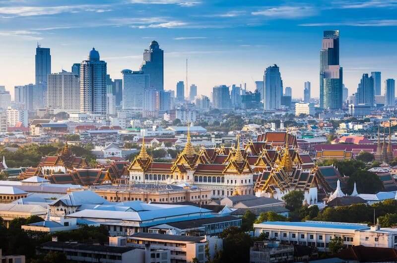 Bangkok la capital de Tailandia